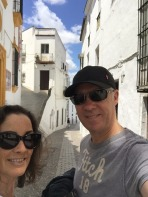 Strolling through Arcos Old Town.