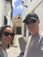 Us in the Old Town.
