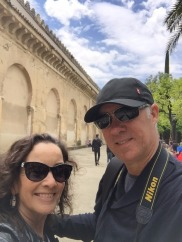 Outside the Mezquita.