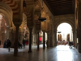 Transition from Mosque to Cathedral.