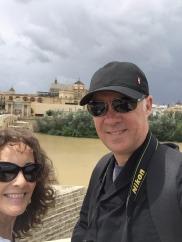Us on the Roman Bridge.