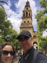 Us on way out of mezquita.