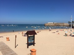 Cadiz beach.
