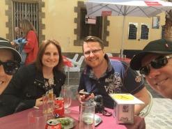 Mark & I with Marina & Marcel.