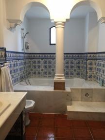 A huge bathroom.