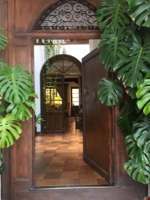 Hotel San Gabriel entry.