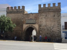 View of Medina entry from street.