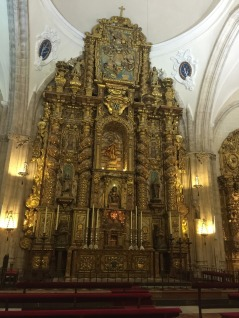 Ronda Cathedral Altar.