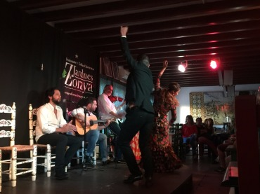 Flamenco with great heart and soul.