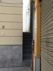 Narrowest street in Granada.