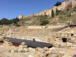 Roman Baths in Malaga.