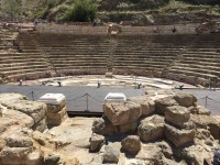 Roman Theater: only discovered in 1951!