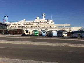 Tourists hitting Malaga.