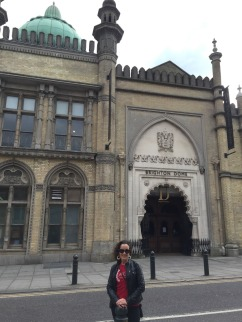 Me outside the Brighton Dome.