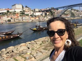 Porto Bridge & Old Town behind me.