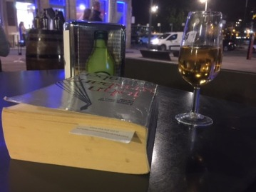 All you need: white port & a good book!