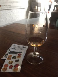 My small 'free glass of Port'!