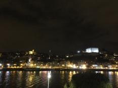 Pretty evening view across to Porto.