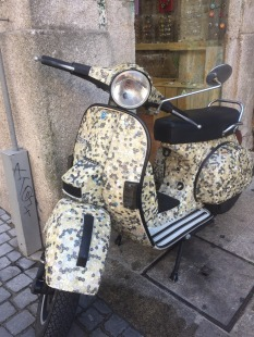Spied this interesting Vespa!