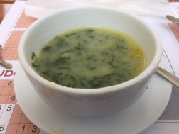 The awful seaweed soup.