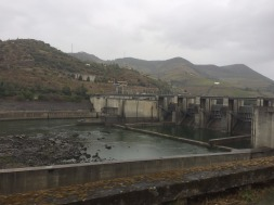 One of the 5 dams along the Douro.