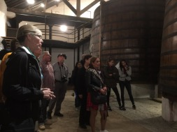 One of the wine tours.