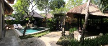 Our lovely private garden and pool