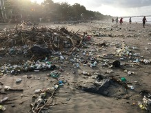 Very sad to see the whole coast polluted :-(
