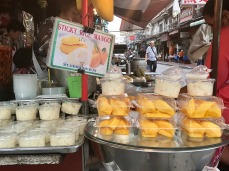 Take away mango and sticky rice