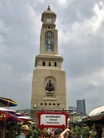 Click Tower at Chatuchak markets