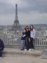 View from the Arc de T