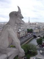 Tom's gargoyles from Notre Dame bell tower