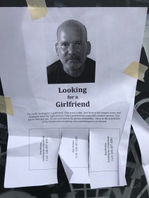 Lots of these posted in the area