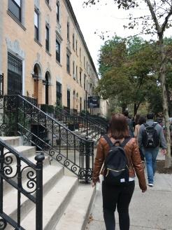 Harlem has very pretty streets.