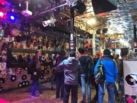 A popular live jazz club