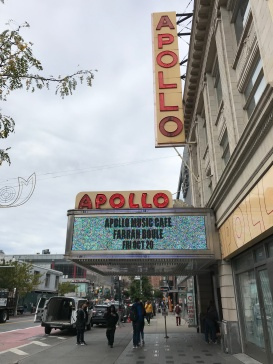 Famous Apollo Theater in Harlem