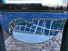 Map of esplanade walk