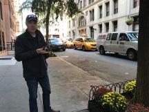 Traffic mayhem even in Gramercy Park.