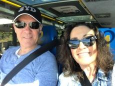 Us on Megabus on way to washington