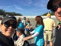 Veterans at the WW2 Memorial