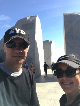 Us at MLK Memorial