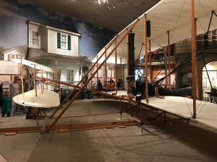 The 1903 Wright Brother's plane.