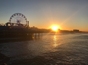 Sunrise view from the Pier