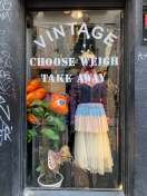 Lots of Vintage shops in the Marais