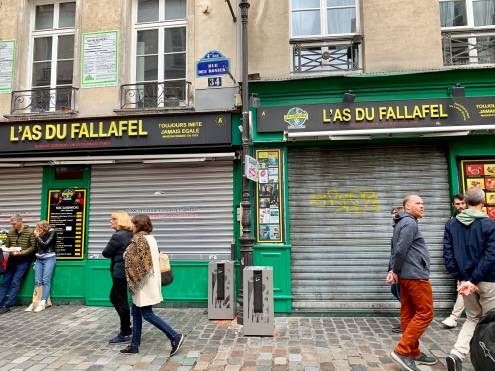 The best falafel in Marais